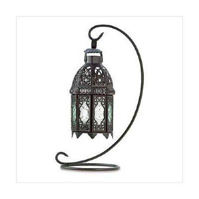 Moroccan Tabletop Hanging Lantern (LL054S)