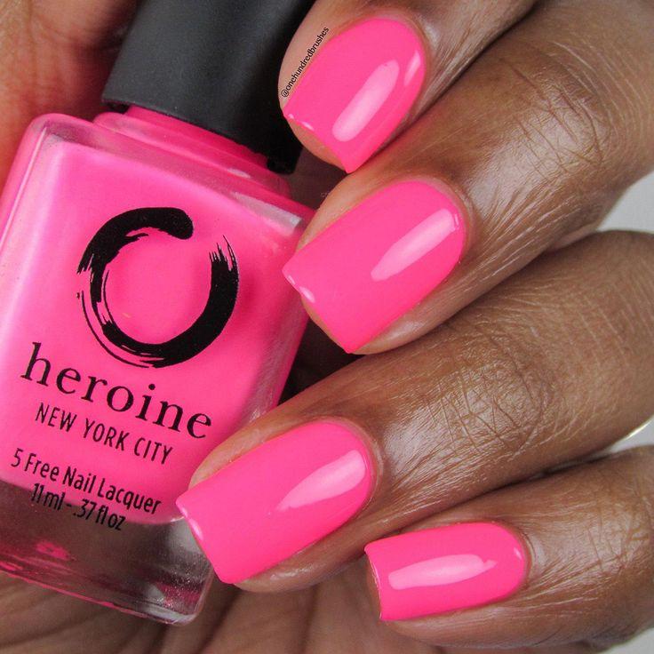 Unicorn hologram pink acrylic nails | Pink acrylic nails