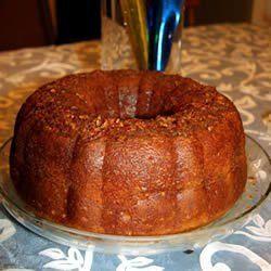 APPLE RUM CAKE GREAT DESSERT FOR THE HOLIDAY SEASON! ORGANIC! TASTY!