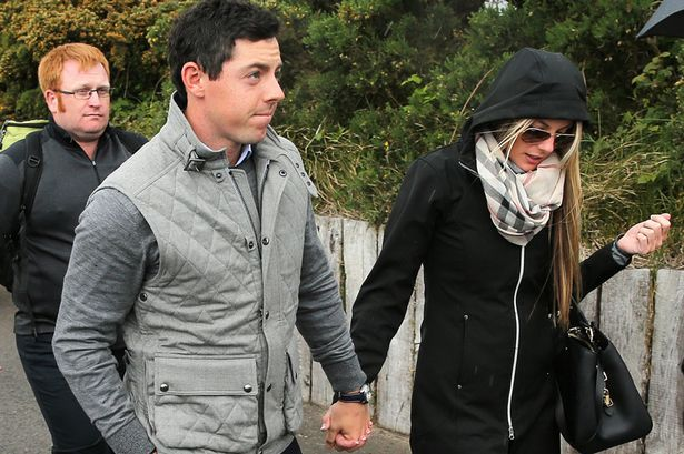 Rory McIlroy pictured with new girlfriend Erica Stoll after making ... Erica Stoll  #EricaStoll