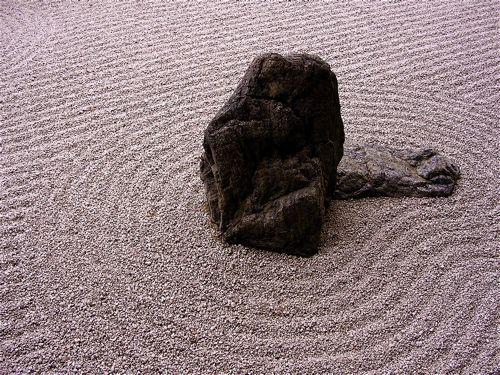 the zen rock garden essay