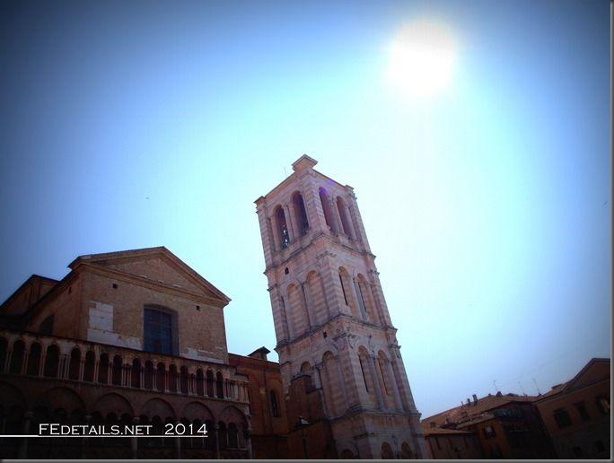 Campanile della Cattedrale di Ferrara, Emilia Romagna, Italy - Property and Copyrights of (c) FEdetails.net 2014