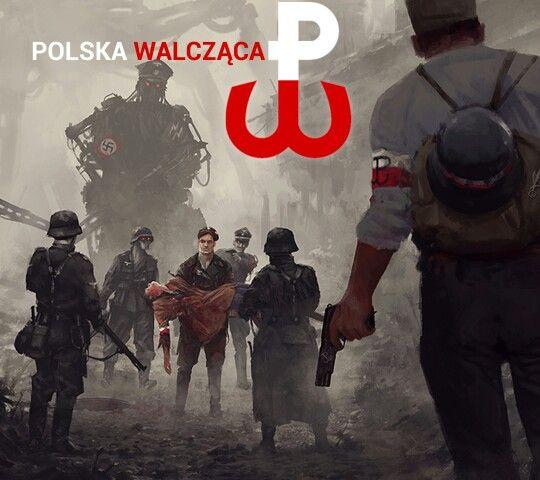 Polska Walcząca-Poland is fighting - the time of German occupation