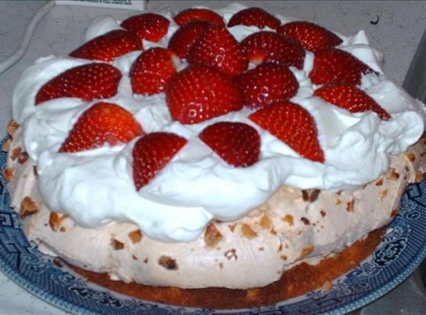 Torte, Strawberries and Recipe on Pinterest