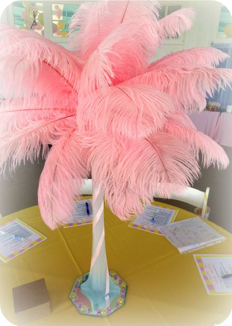 """Photo 4 of 39: Pink And Yellow Vintage Circus Baby Shower / Baby Shower/Sip & See """"Meg's Cirque Du Bebe"""" 