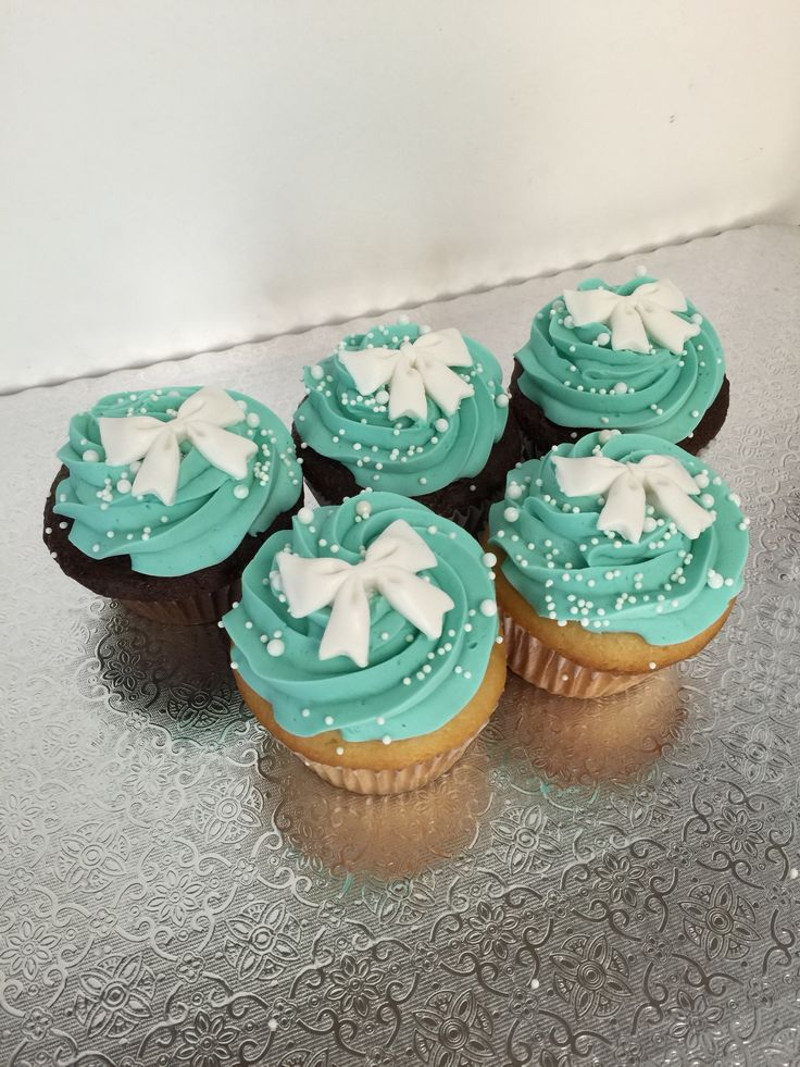 tiffany & co cupcakes
