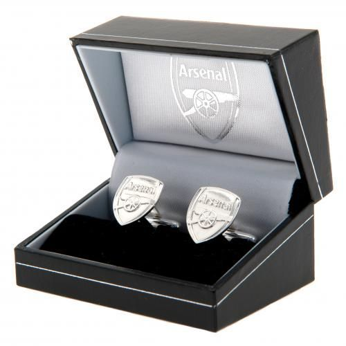 Arsenal FC Sterling Silver Cufflinks | AFC Merchandise | Football Gifts Shop