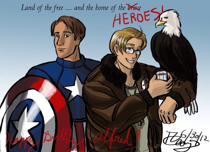 meet the allies hetalia america