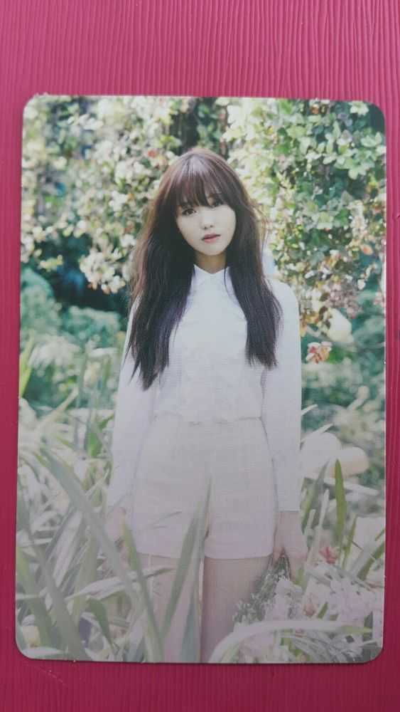 LOVELYZ SUJEONG Official Photocard #1 A NEW TRILOGY 2nd Album GRAVITY 수정