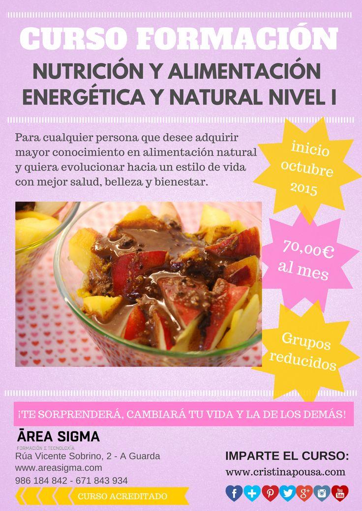 Curso alimentación energética y natural. Apostando por una educación nutricional integral: cuerpo, mente y emociones.