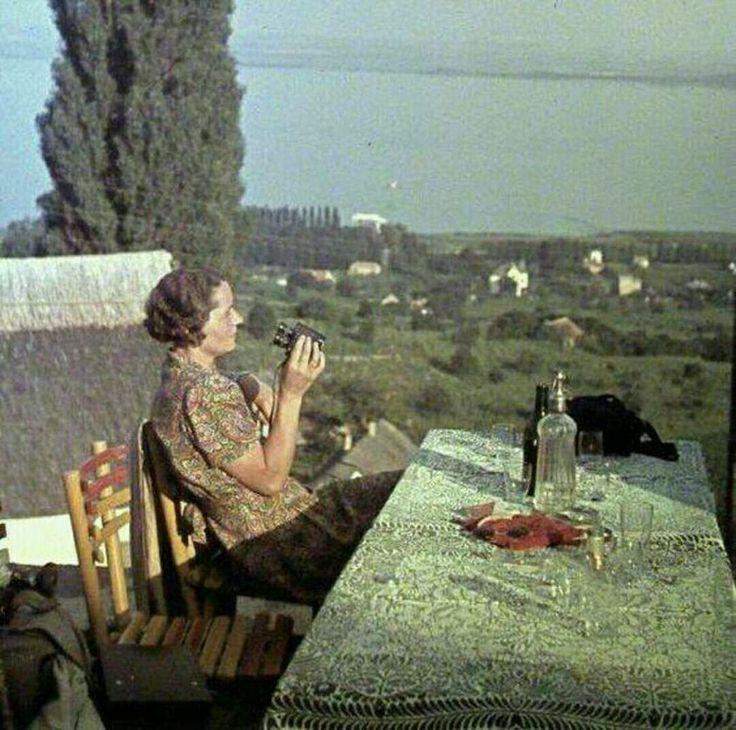 1936 View from Badacsony