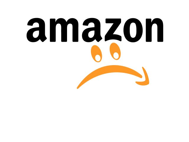 shares 10 % down, #Amazon is sad, bigger than expected loss in Q2   via @all4btc & @recode