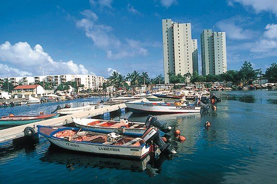 Laurisisque fishing port #GrandeTerre #FishingPort #VisitGuadeloupe #GuadeloupeIslands
