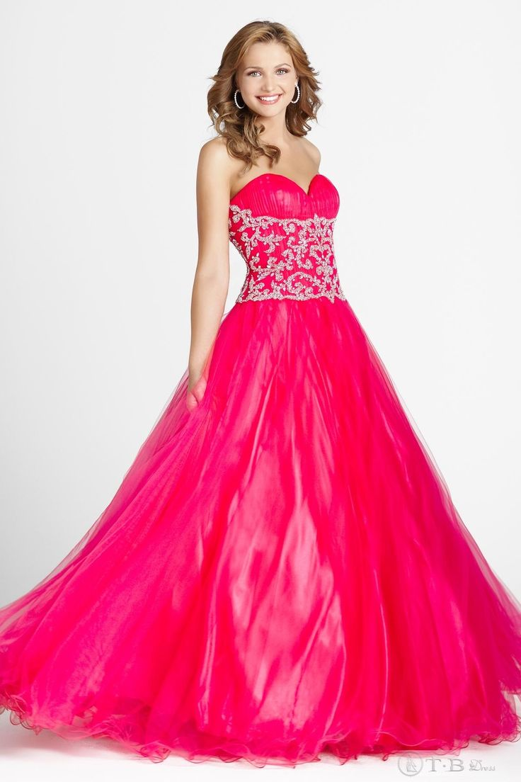 56 best Prom Dresses images on Pinterest   Formal gowns, Tea length ...