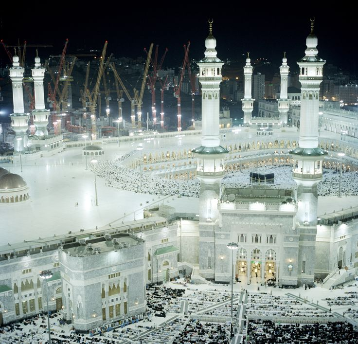 Amazing Hajj photos by Toufic Beyhum. Pity about the cranes though. :(