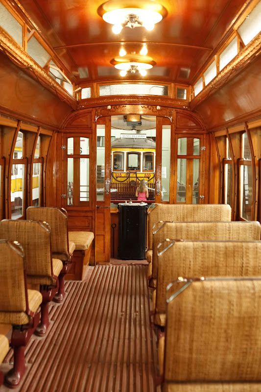 Inside a #Lisbon streetcar (tram) #Portugal.. Fun to ride on especially through those narrow and I mean narrow streets.