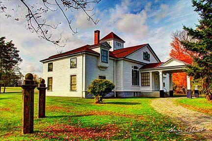 The Haliburton House in Windsor, Nova Scotia.