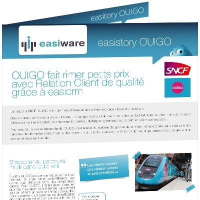 OUIGO | easiware  http://www.easi-crm.com/ouigo/