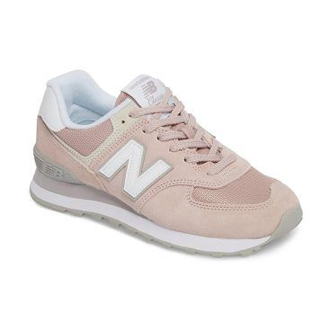 '574' sneaker by New Balance. Loaded with retro detailing, an old-school runner's sneaker features layered-panel construction and a throwback silhouette. Style Name: New Balance '574' Sneaker (Women). Style Number: 1021536. Available in stores. #newbalance #sneakers #activewear #athleisure