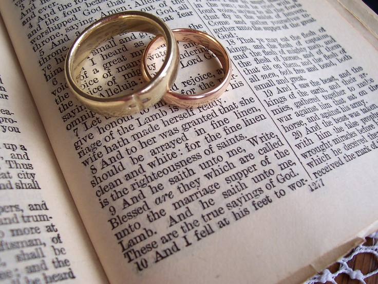 The Essence of Me November 2012 Marriage, Marriage vows