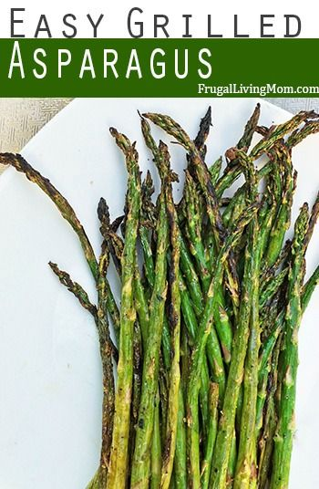 Amazing (and Easy) Grilled Asparagus | Want something new and is a great side for spring or summer dishes? Try this Grilled Asparagus .