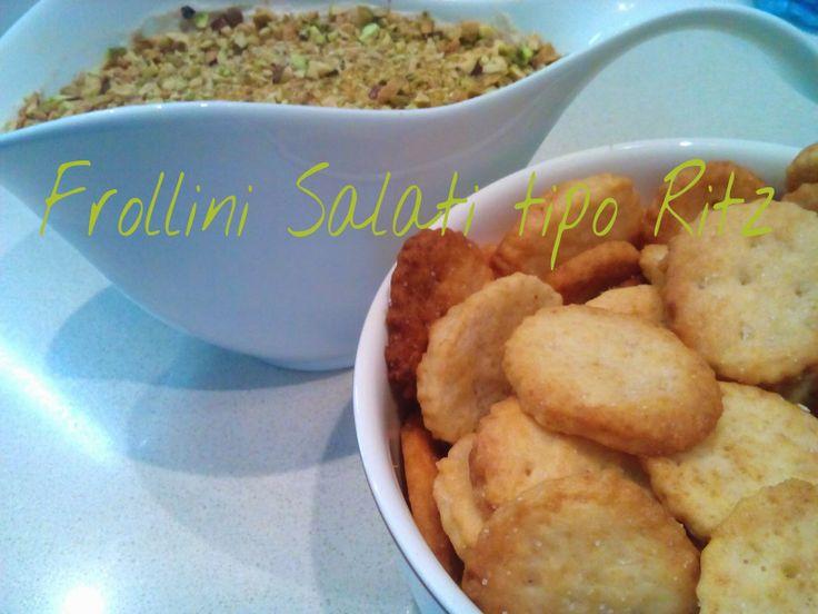Cucinando tra le nuvole: Frollini salati tipo Ritz