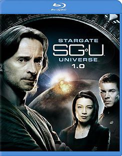 STARGATE SGU UNIVERSE SEASON 1.0 Blu-ray 2-Disc Set CARLYLE LOU FREE SHIP US
