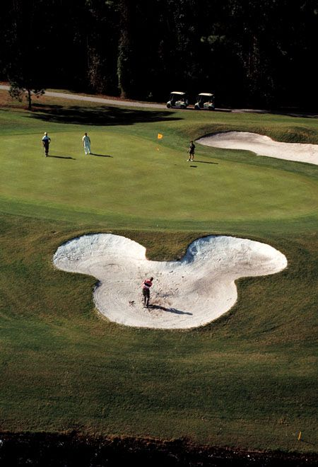 Disney Golf, Photo Credit: Visit Orlando