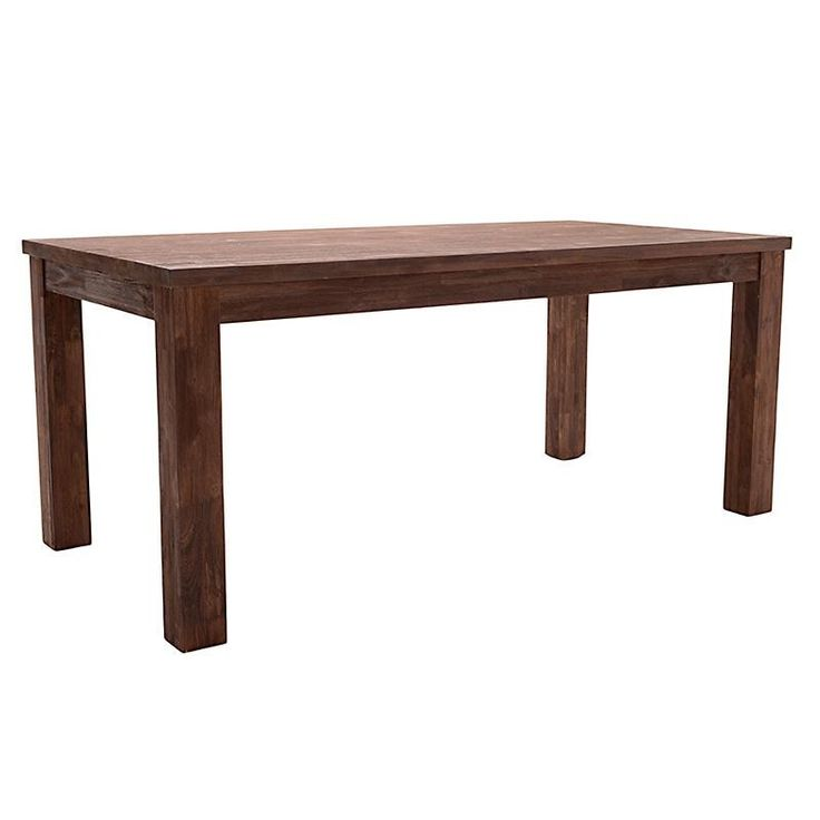 WOODEN DINING TABLE IN BROWN COLOR 180Χ90Χ77 - Dinner Tables - FURNITURE