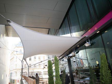 Wien HP Membran - Kiefer. Textile Architektur