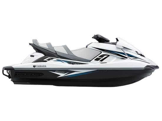 Yamaha FX Cruiser SVHO® - in Pure White - Supercharged family sport - LOOKS GREAT WITH STIFFIE WHITE / SILVER OR SILVER / BLACK - http://www.stiffiebrand.com/search.php?search_query=SILVER&x=0&y=0