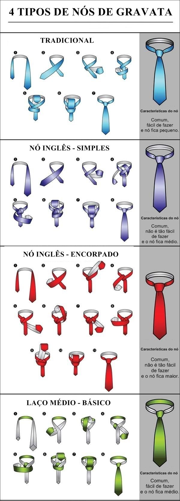 como dar nó em gravata, nó na gravata, padrinho, noivo, nó pequeno, nó grande…                                                                                                                                                     Más