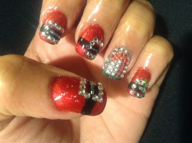 11 best Acrylic Christmas nails design images on Pinterest ...