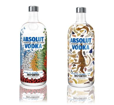 Nelson Leirner – Em parceria com a  Absolut Vodka, Leirner e Senise foram os dois artistas brasileiros escolhidos para assinar o design de uma série limitada de garrafas. Veja que obras de arte.