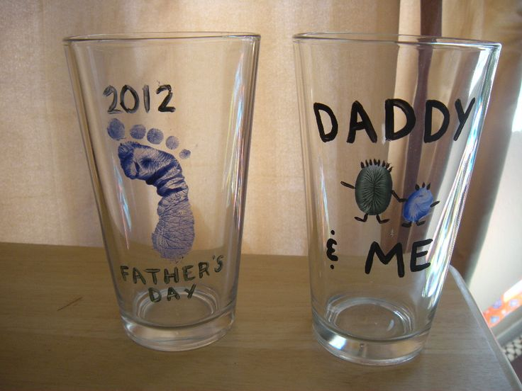 first fathers day beer mug