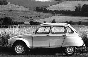 My first car - Citroen Diane