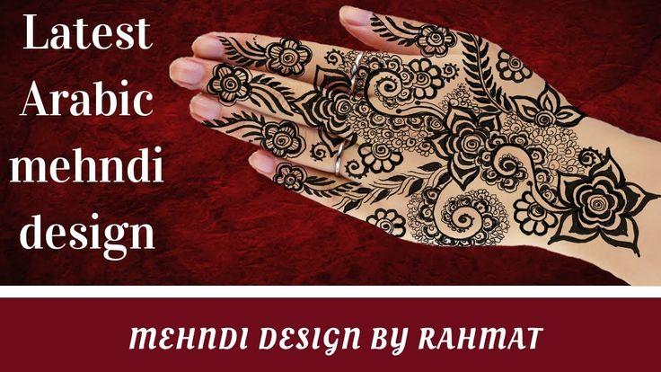 Latest arabic mehndi designs/traditional mehndi design 2018/stylish Henn...