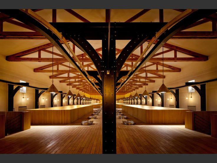 Château Mouton Rothschild - PAUILLAC, Atelier Architectes Mazières #wine #architecture #france #bordeaux