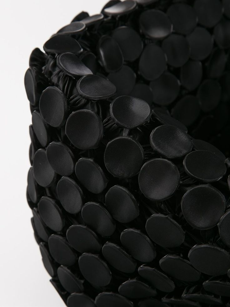 Fabric Manipulation used to create black textures; creative textiles for fashion // Issey Miyake