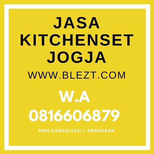 jasa interior kitchenset jogja