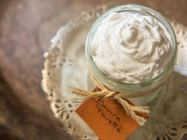 Beurre corporel au miel