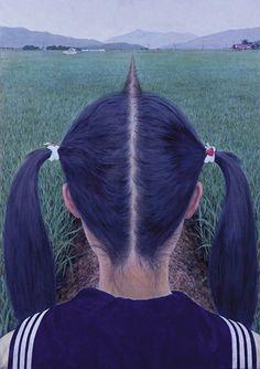 gezichtsbedrog - mooie optische illusies op vrouwen.nl #kunst