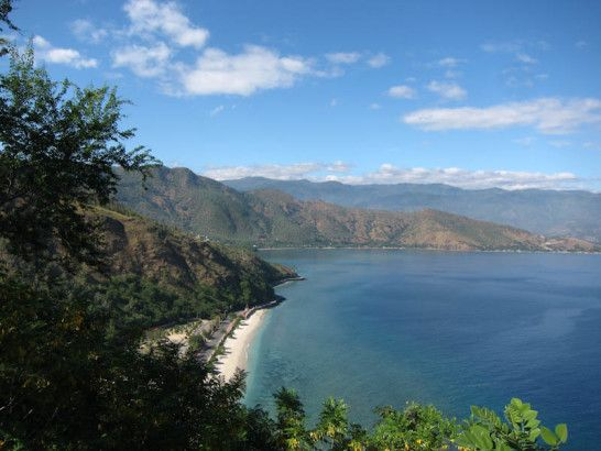 East Timor view from Jesus Statue  Photo by: Katie Allen