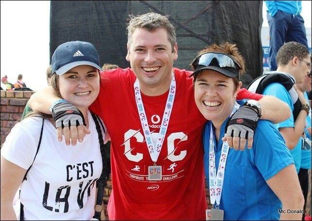 Corporate Triathlon challenge completed 2015!!!