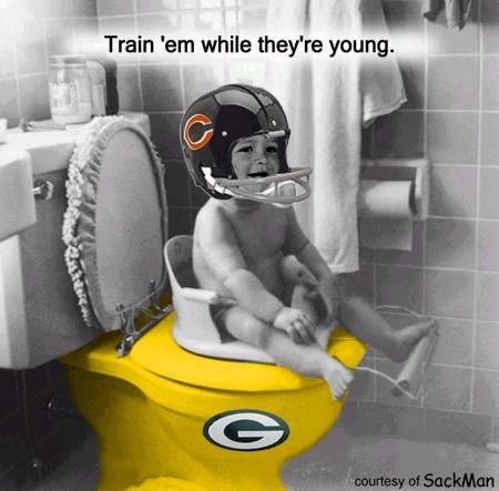 bears packers funny images | Bears/Packers