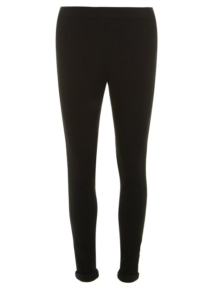 Black 'Lyla' High Waist Tube Pants - Dorothy Perkins