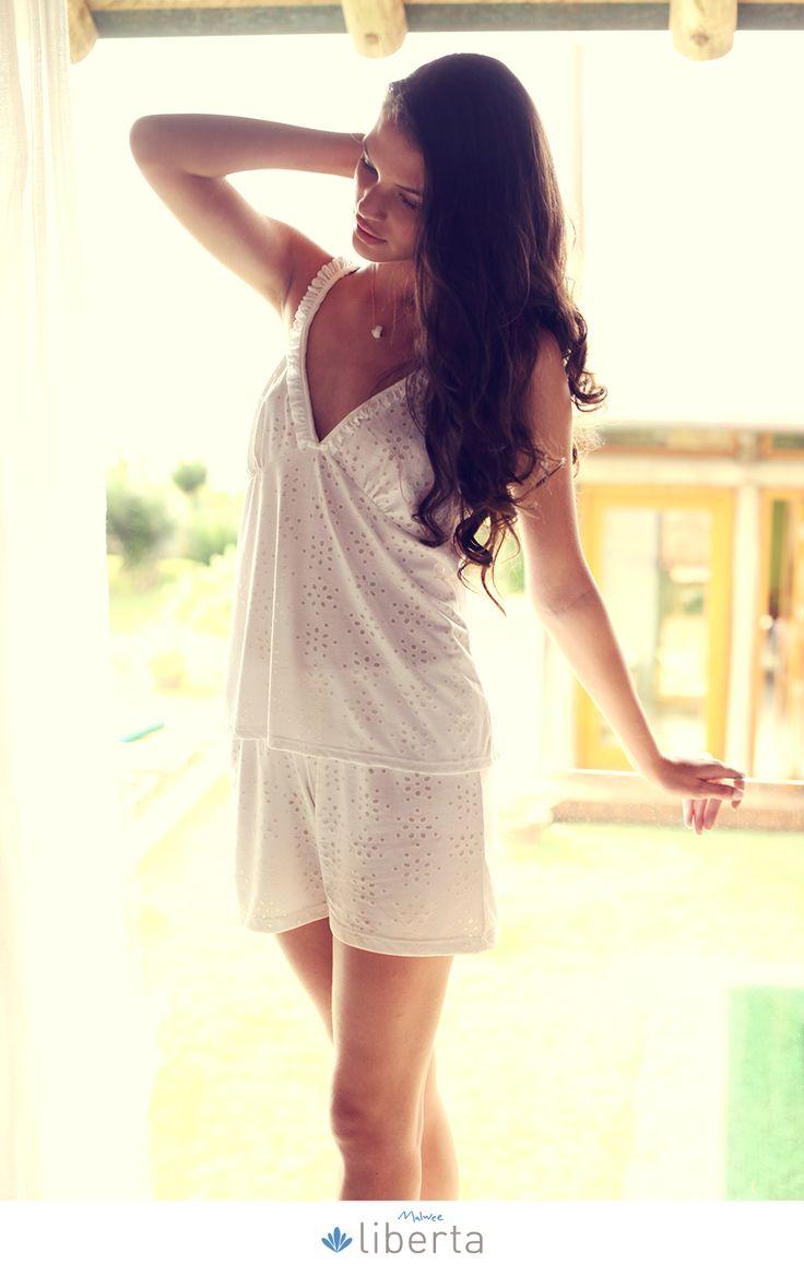 Os pijamas Liberta combinam com os momentos em que aquela preguicinha gostosa bate na nossa porta. #EuVivoEsseMomento
