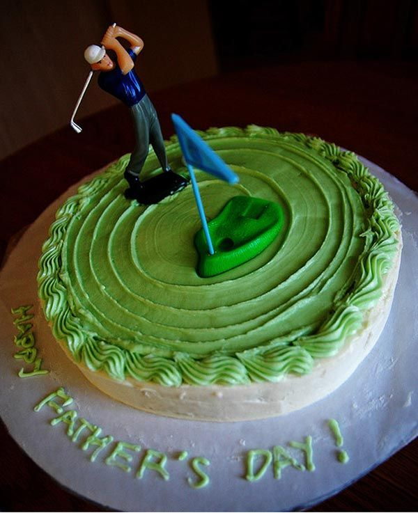 Father's Day Cake Decorating Ideas | Happy Father's Day from InspireFusion.com