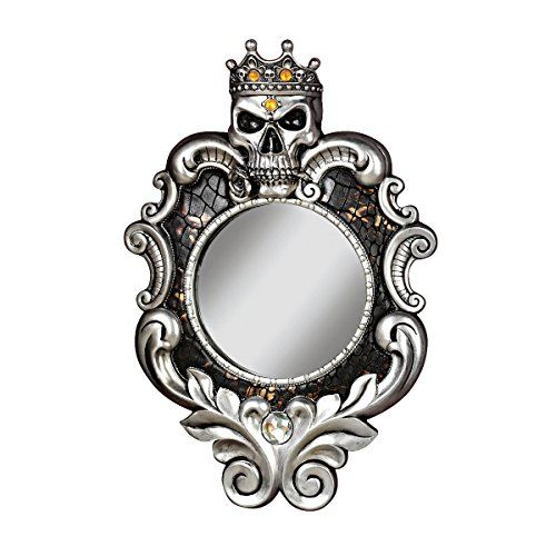 Special Offers - Design Toscano The Fairest One of All Wall Mirror Silver Review - In stock & Free Shipping. You can save more money! Check It (October 26 2016 at 06:23PM) >> http://bathroomvanitiesusa.net/design-toscano-the-fairest-one-of-all-wall-mirror-silver-review/