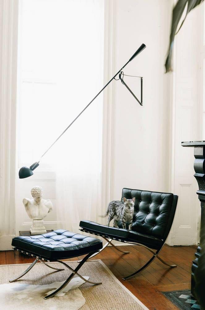 De 25 bedste id er inden for barcelona chair p pinterest for Living room 8 place jean rey